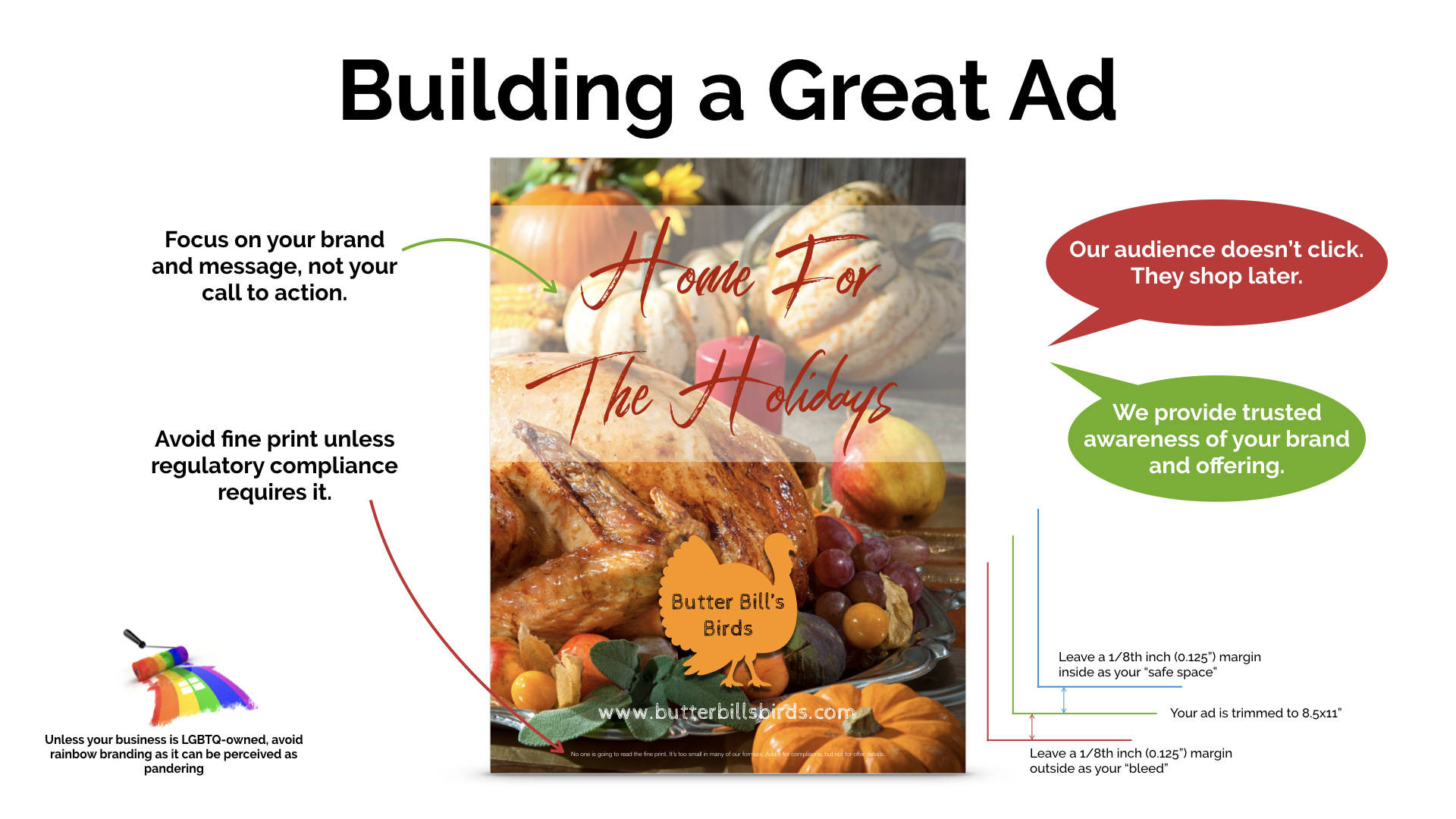 Building a Great Ad