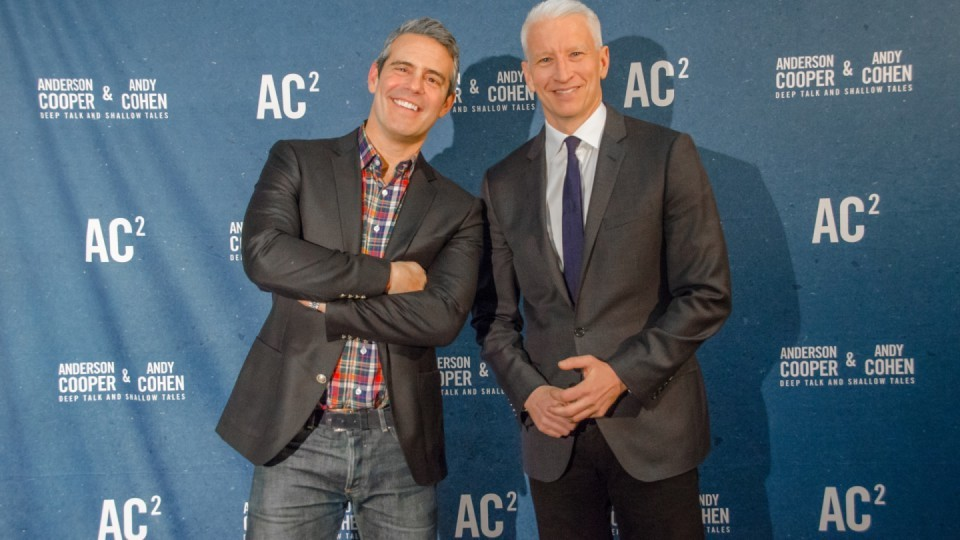 Anderson Cooper and Andy Cohen to Kiki in Vegas