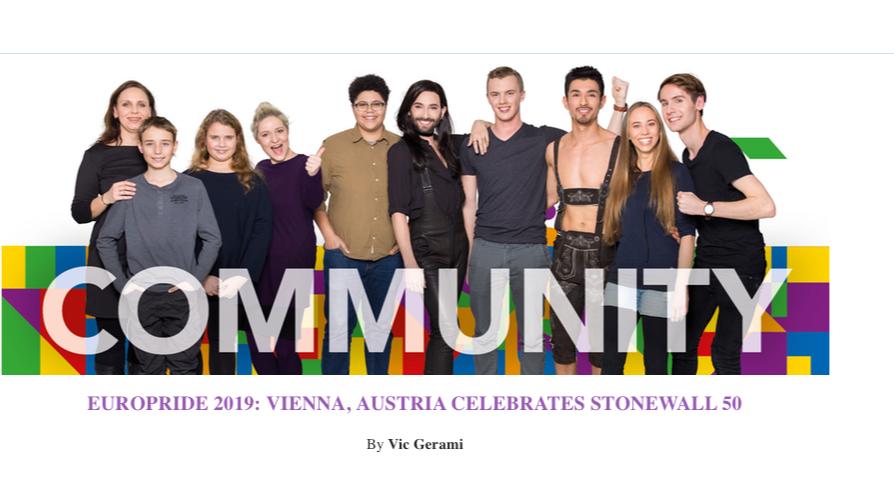 EuroPride 2019: Vienna, Austria, Celebrates Stonewall 50