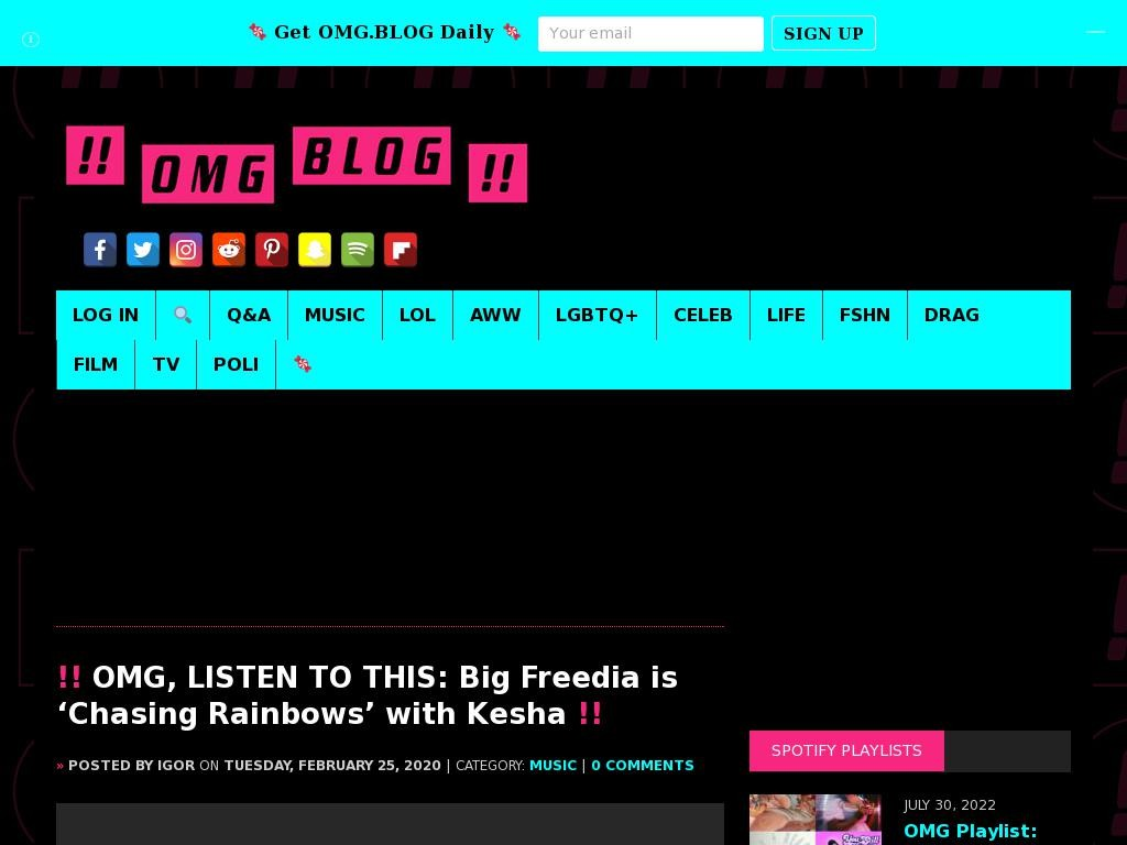 OMG, LISTEN TO THIS: Big Freedia is 'Chasing Rainbows' with Kesha