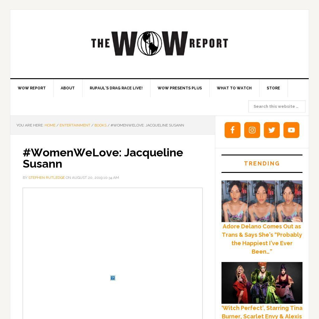 #WomenWeLove: Jacqueline Susann