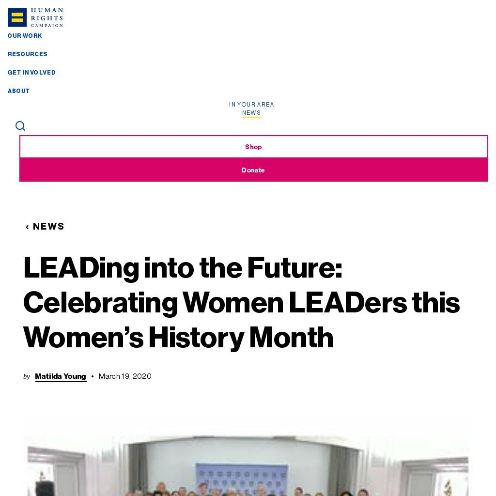 LEADing into the Future: Celebrating Women LEADers this Women's History Month