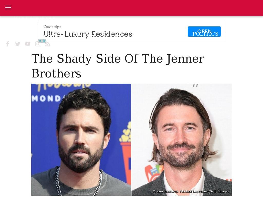 The shady side of the Jenner brothers