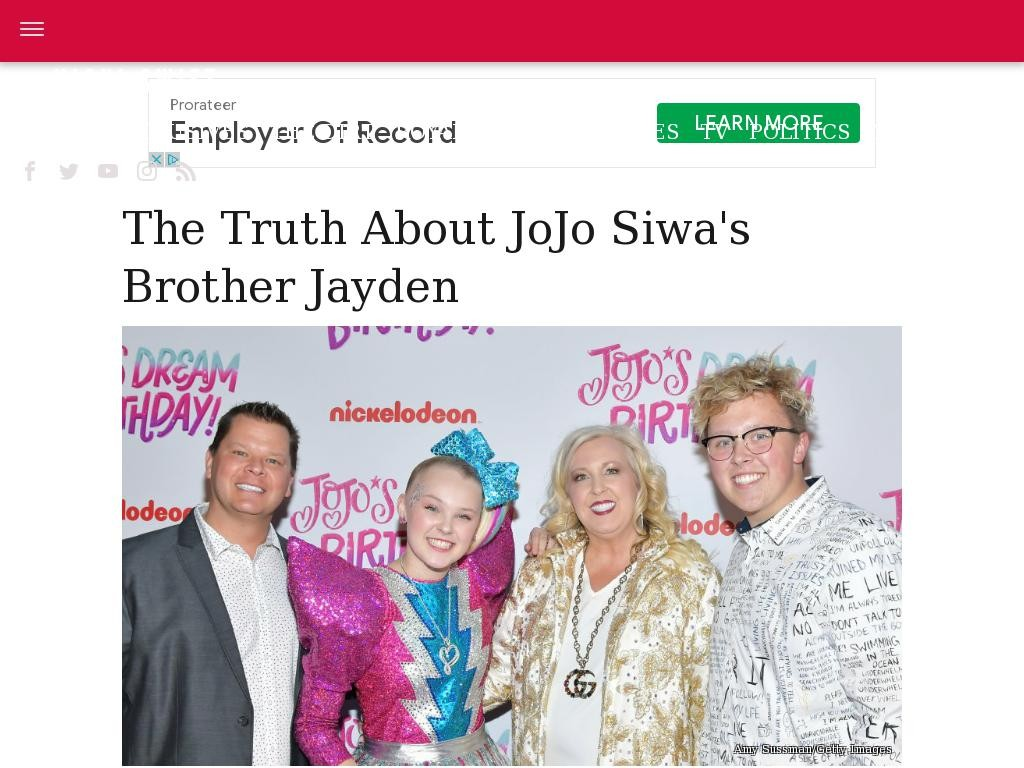 The truth about JoJo Siwa's brother Jayden